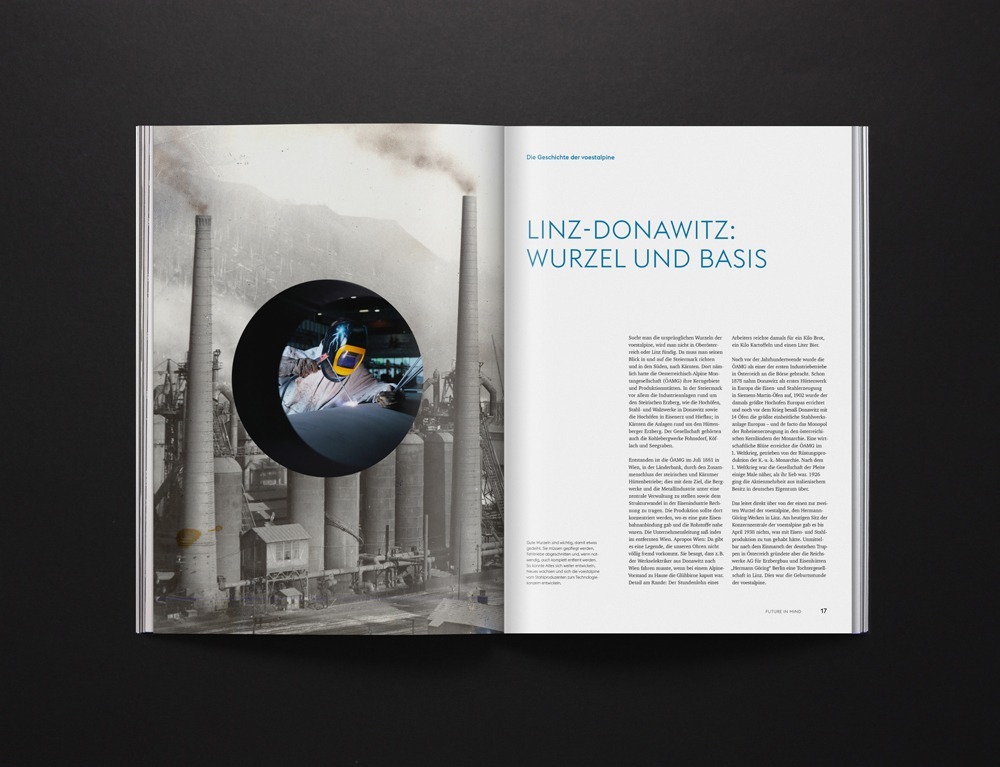 Voestalpine Editorial Design