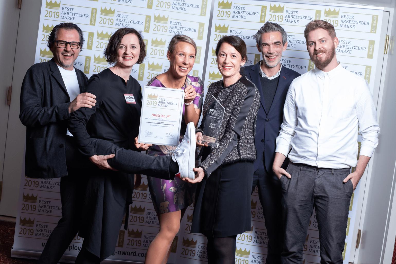 Employer Branding Award2019 Brainds Austrian Airlines