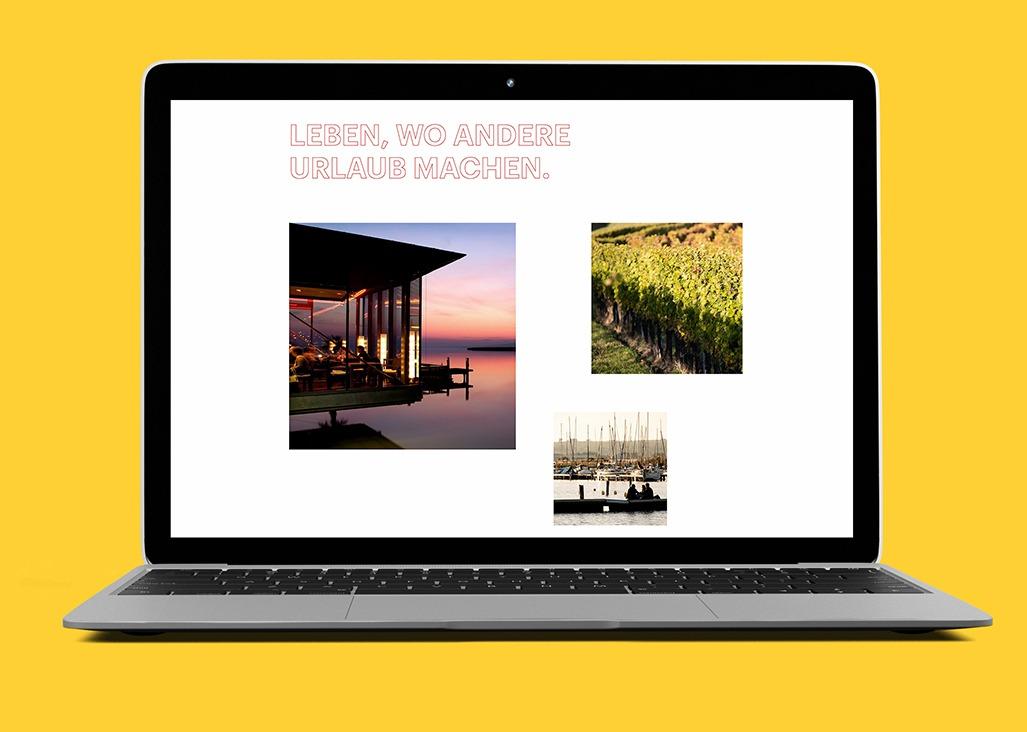 Wirtschaft Burgenland Webdesign Laptop Impressionen Burgenland