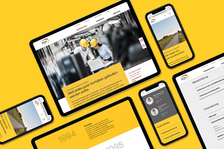 Wirtschaft Burgenland Webdesign