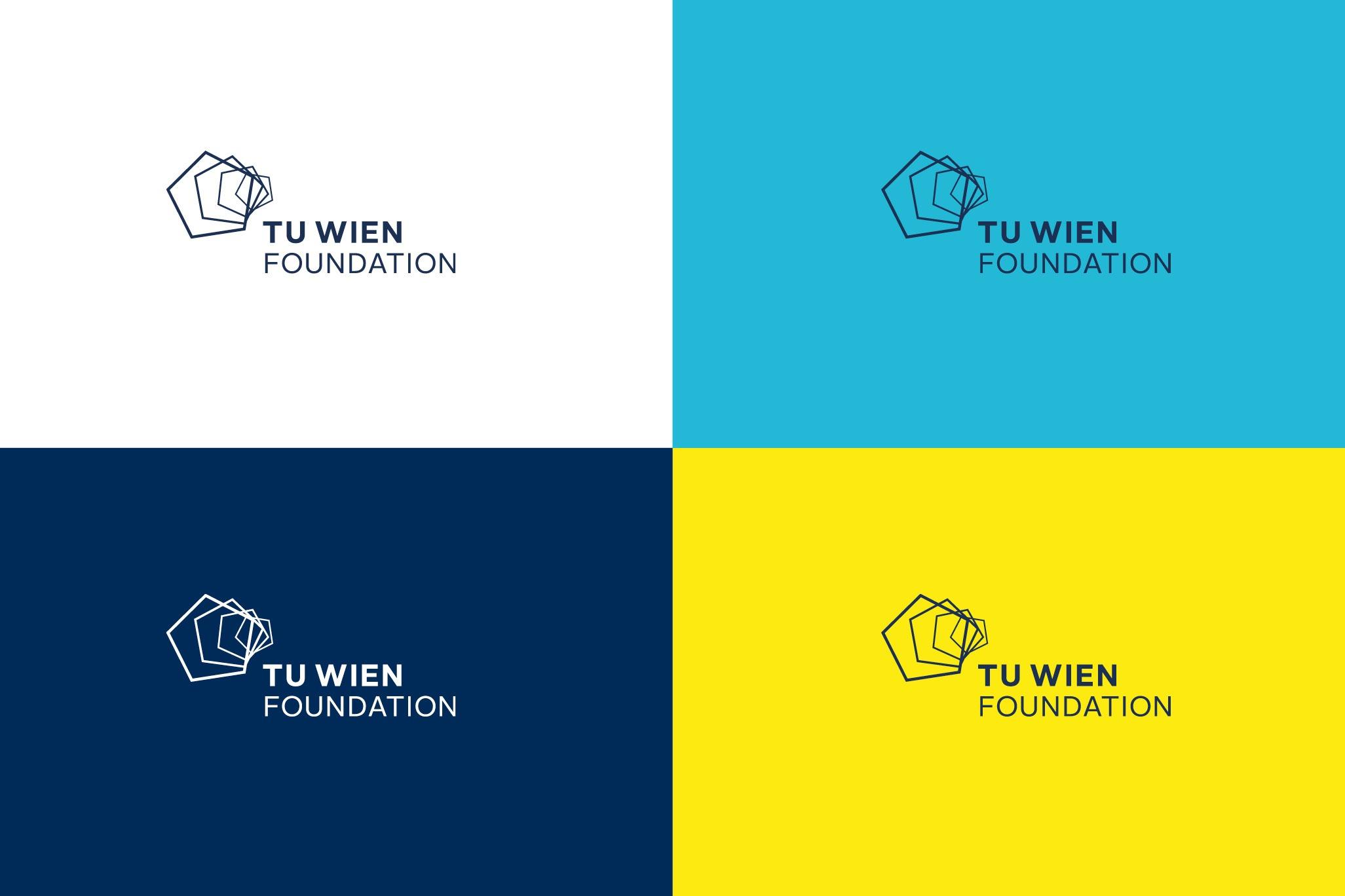 TUWienFoundation Brand Design Logo