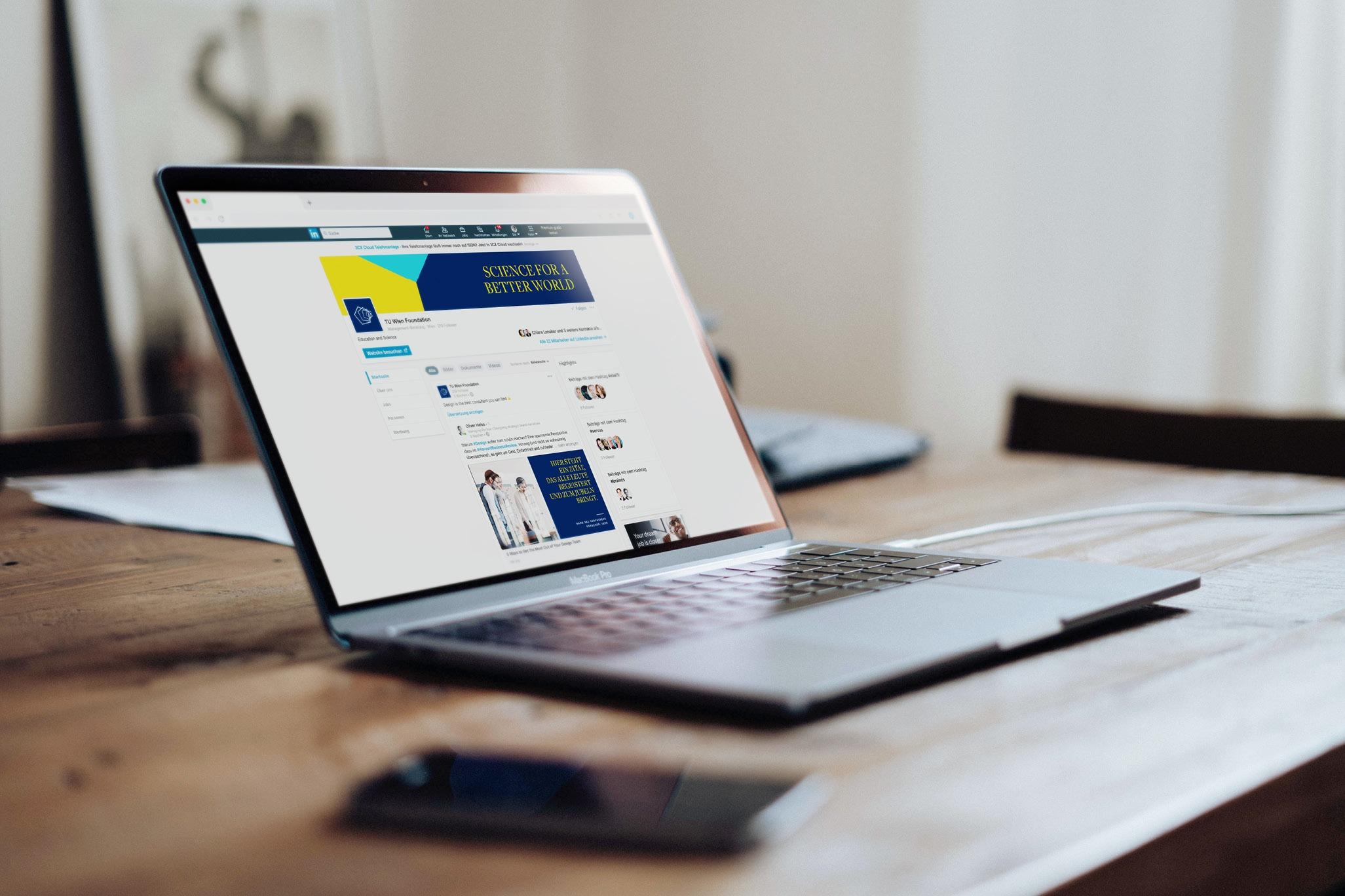 TUWienFoundation Brand Design Website