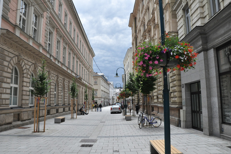 City Branding Linz Straße