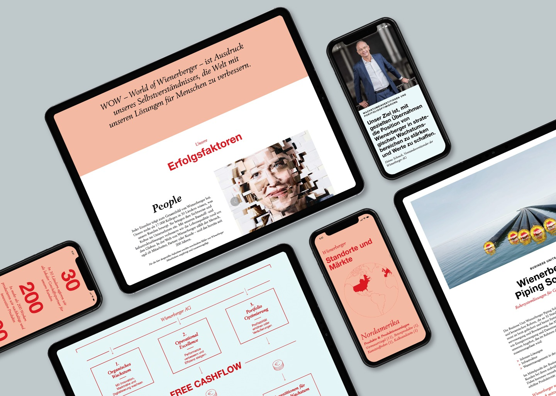 Wienerberger Online Geschäftsbericht Devices