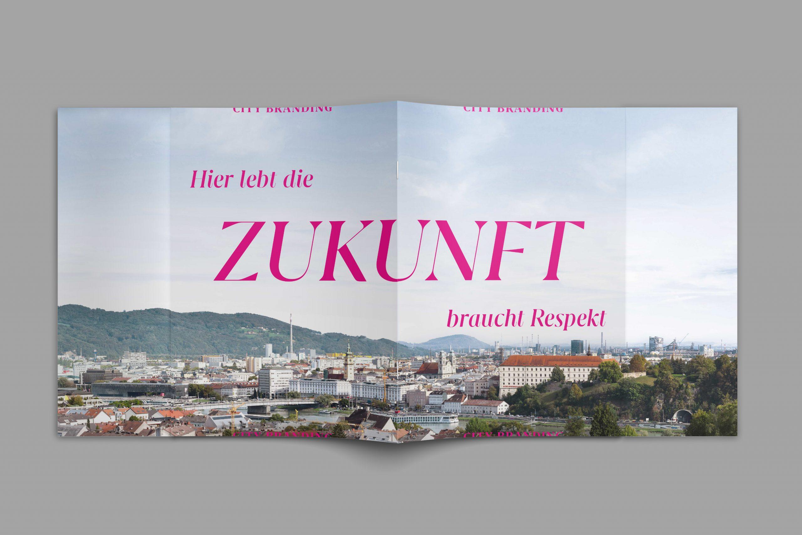 City Branding Linz Strategie Markenfibel Brainds