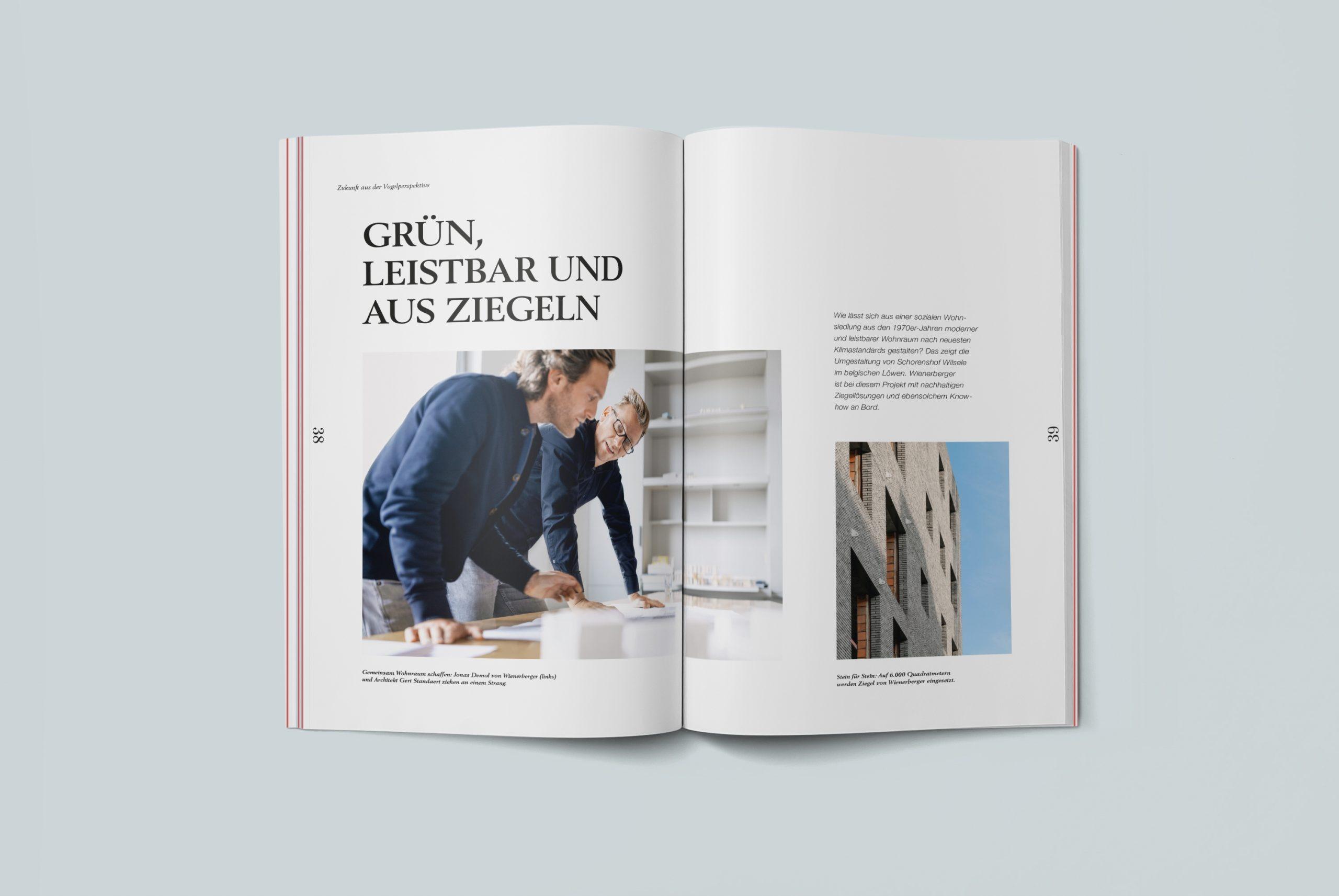 Wienerberger Geschäfstbericht 2020 Doppelseite